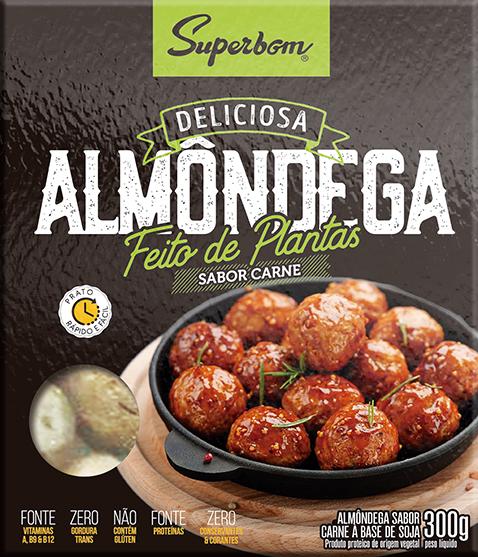 Almôndega Vegana