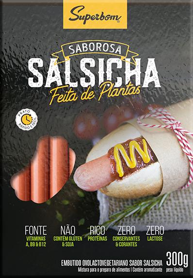 Salsicha à Base de Ervilha